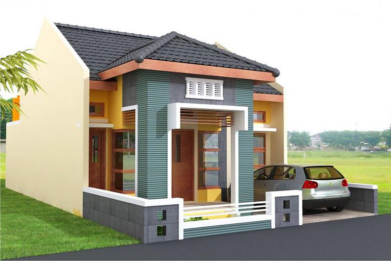 Desain Rumah Sederhana Minimalis 1 Lantai Modern