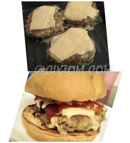 Resepi Homemade Burger Patties Paling Mudah