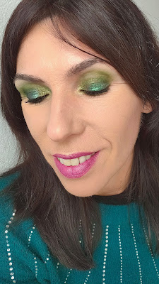 "Paleta ""The roaring 20's"" - Reckless de Rude Cosmetics 14"