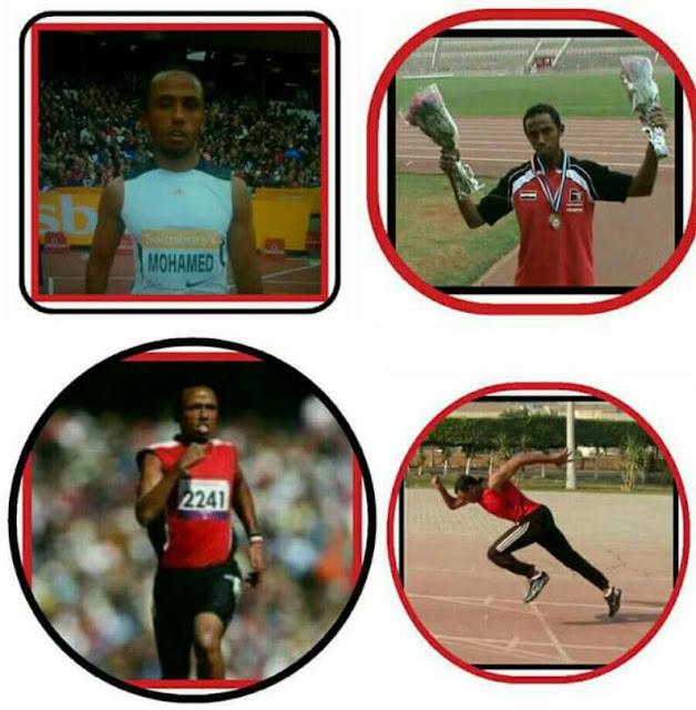 """العداء """" مصطفى فتح الله """" أول فضية فى ألعاب القوى والخامسه لمصر ببارأوليمبيا دريو بالبرازيل"""