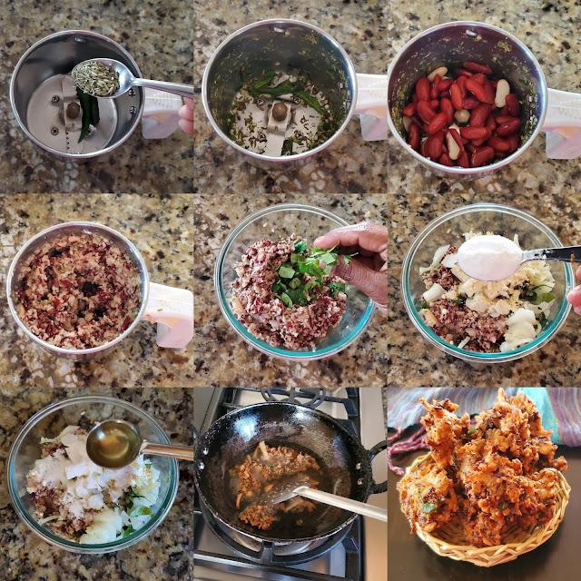 images of Rajma Pakoda / Rajma Pakora / Kidney Beans Pakora - Tea time Snack