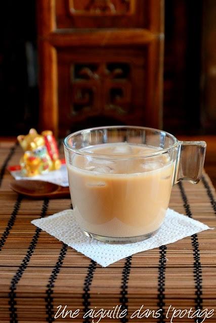 Thé au lait façon Hong-Kong (lai cha)