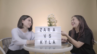 Former JKT48 Zara and Kyla opens YouTube channel