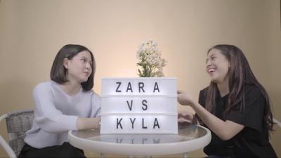 Former JKT48 Zara and Kyla opens YouTube channel