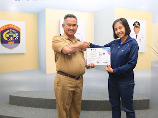 Wali Kota Menerima Perwakilan Kontingen Taekwondo Tarakan - Tarakan Info