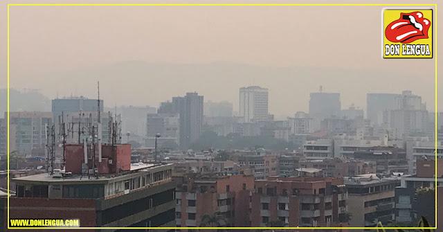 Vuelve la Calima : Contaminación atmosférica cubre a toda Caracas