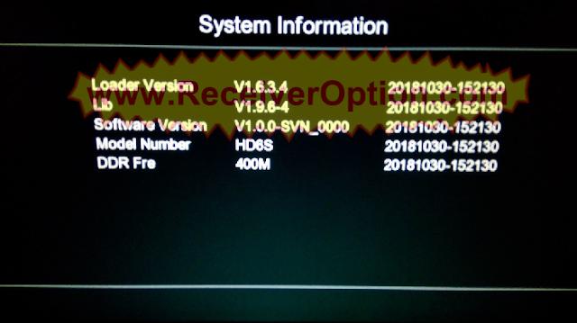 GXSS5B_VER1.5 BOARD TYPE HD RECEIVER ORIGINAL SOFTWARE