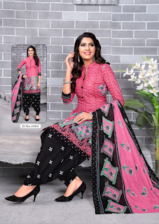 meenaxi ipl 2020 Cotton Print Dress Material