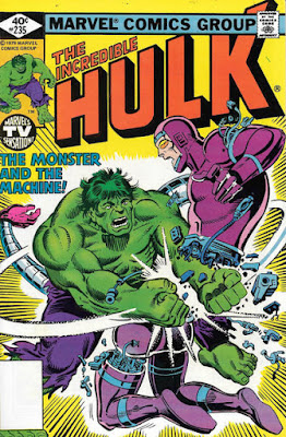 Incredible Hulk #235, Machine Man