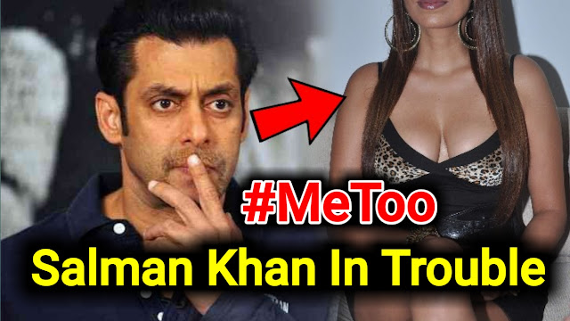 #MeToo Salman Khan lands in trouble