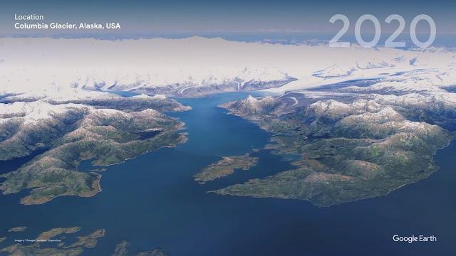 Columbia Glacier, Alaska, USA -  2020
