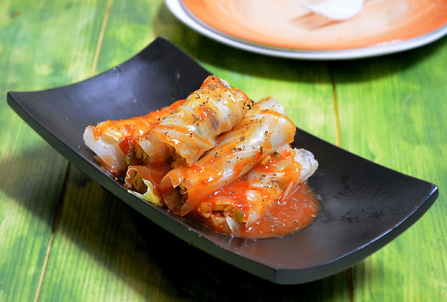 Veg Lebanese Mihshi Malfuf Recipe (Stuffed Cabbage Leaves)