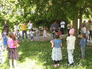 Muttertagsfeier vom Kindergarten im Grünen