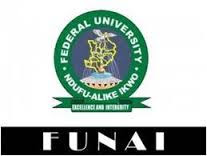 Federal University Ndufu-Alike Ikwo, FUNAI 2016/2017 4th Batch Admission List Released