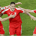 Half-time score Serbia 1 – 0 Switzerland