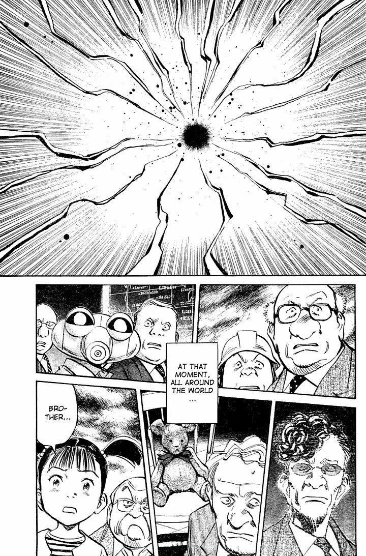 Page 23, Act 64: Sound of the End from Naoki Urasawa's Pluto Volume 8
