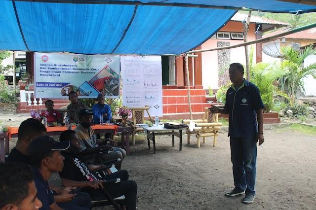 Tananua Flores Fasilitasi Pembentukan Kelompok Kerja (POKJA) Pegelolaan Perikanan Gurita di Kabupaten Ende