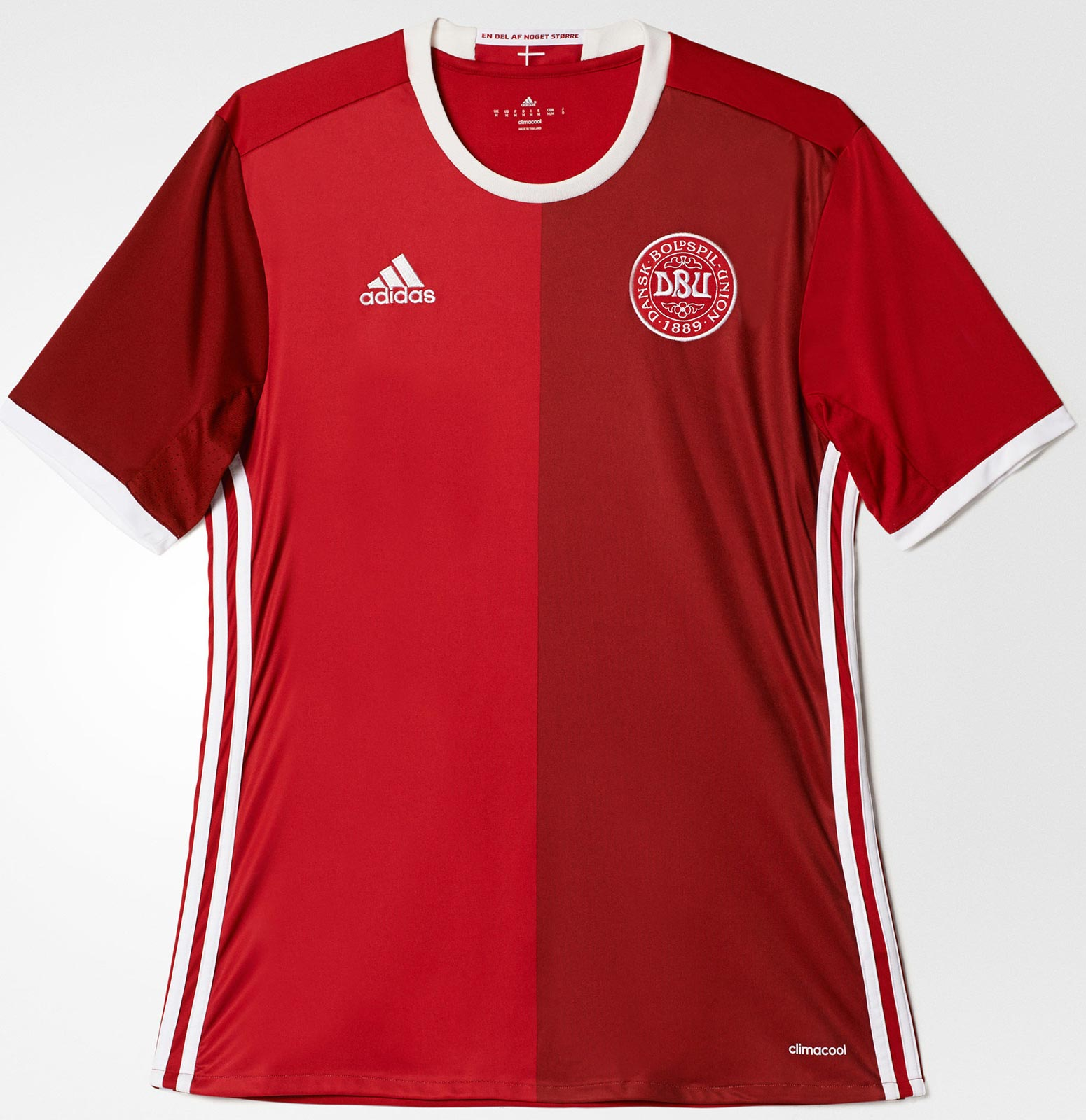 94653f359d Adidas divulga nova camisa titular da Dinamarca - Show de Camisas