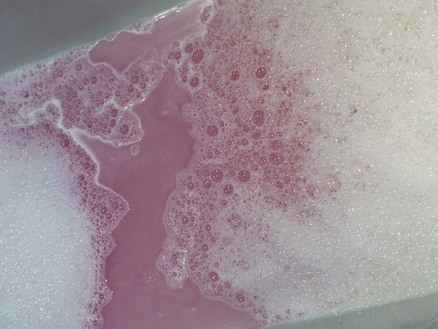 Rose Bubble Bar by Lush