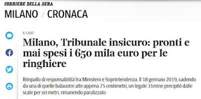 https://milano.corriere.it/notizie/cronaca/19_ottobre_19/tribunale-insicuropronti-mai-spesi-650-mila-europer-ringhiere-9d98440e-f2a3-11e9-a8b5-b5f95b99eb6a.shtml
