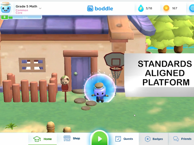 Boddle- An Engaging 3D Math Game for Students