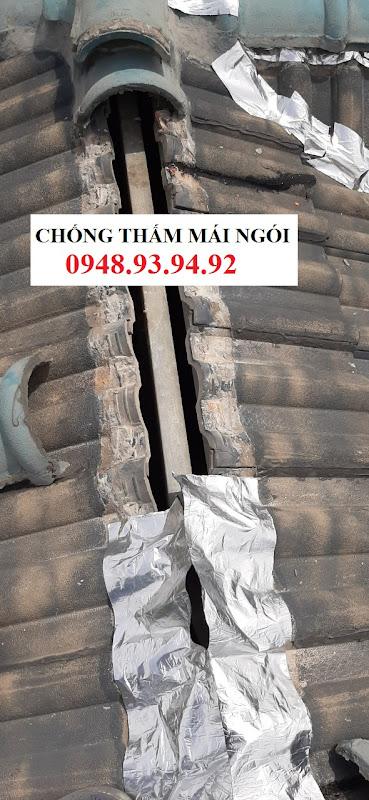 chống thấm chống dột mái ngói tphcm
