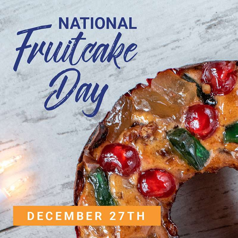 National Fruitcake Day Wishes for Instagram