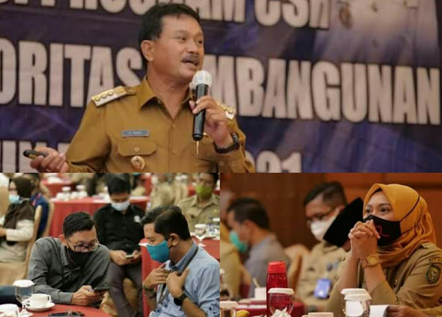Bappeda Madiun Gelar Rapat Sinkronisasi CSR dan Prioritas Pembangunan 2021