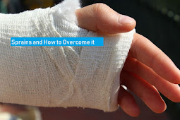 Sprains and how to overcome it