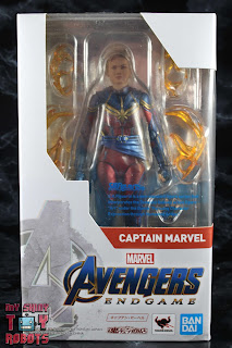 SH Figuarts Captain Marvel (Avengers Endgame) Box 01