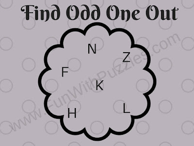 Tough Odd One Out Picture Puzzle