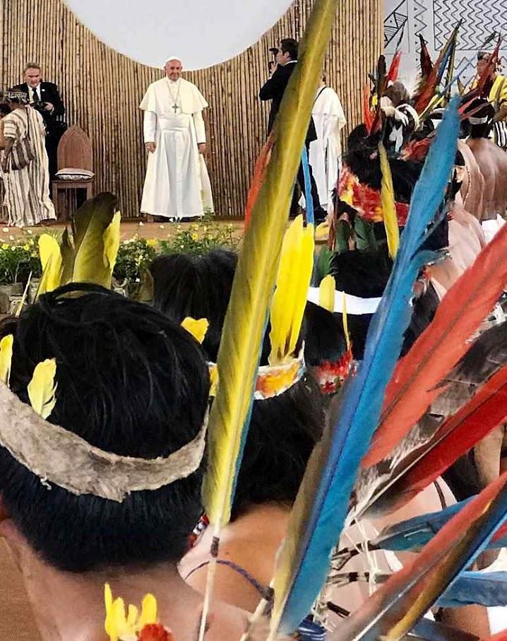 Abertura Sinodo da Amazônia, Puerto Maldonado, Peru
