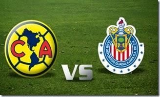 Escudo de Club America y Chivas