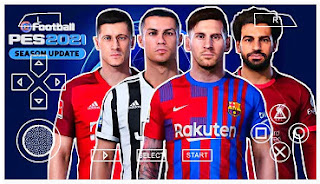Download PES 2021 PPSSPP New Minikits Real Faces English Commentary & Full Transfer Best Graphics