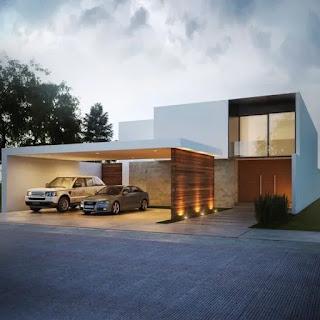 pada kesempatan kali aku akan membahas ihwal desain garansi yang minimalis dan juga el Contoh Desain Garasi Yang Minimalis Dan Elegan