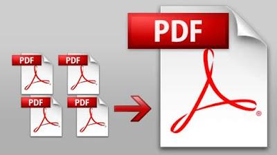 طريقة دمج ملفات pdf في ملف واحد