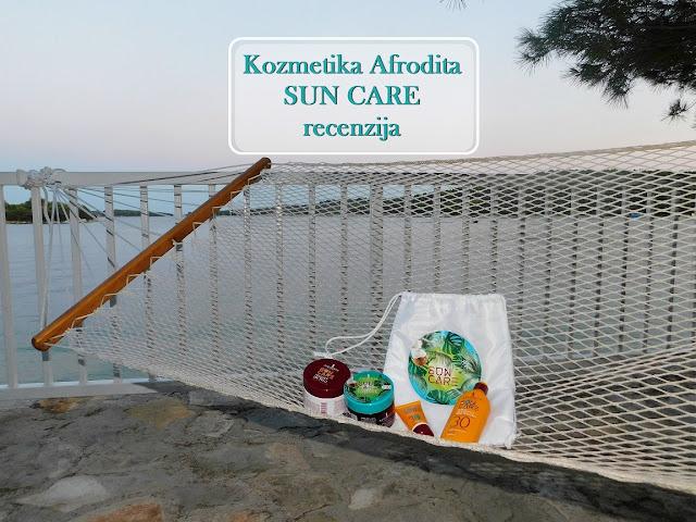 afrodita, kozmetika, cosmetics, slovenia, slovenija, sun care, ljeto, summer, marmelada, krema za sunčanje, review, recenzija