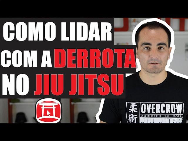 derrota no jiu jitsu perder perdi