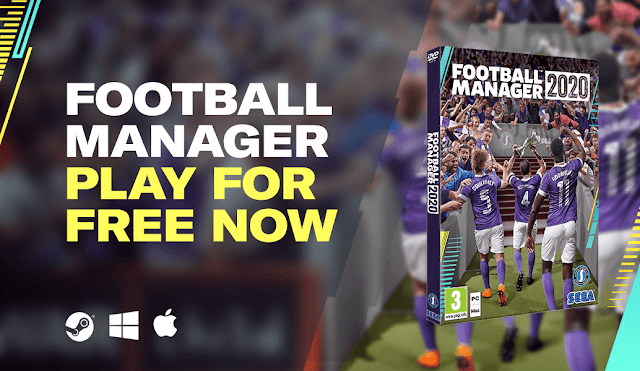 Football Manager 2020 gratuito durantes uns dias