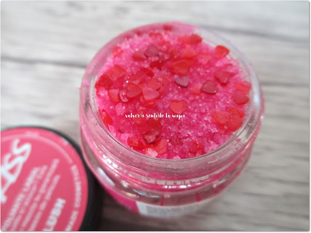 Lush San Valentín - The Kiss Lip Scrub (Exfoliante Labial)