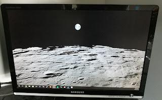 Repaired monitor