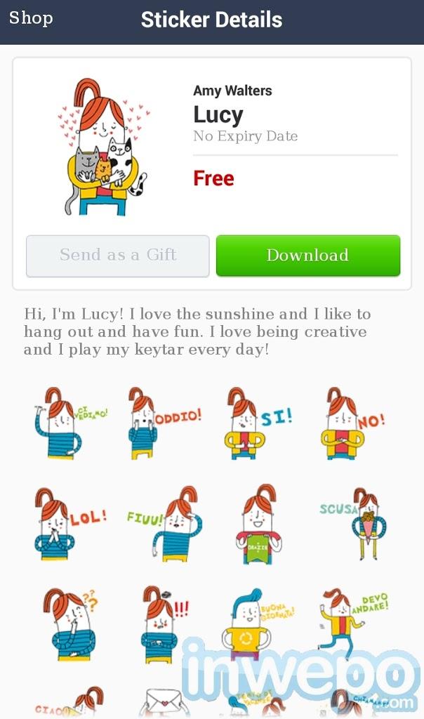 Download sticker gratis line vpn