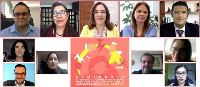 Ley Olimpia primer paso para visibilizar y erradicar la violencia digital contra mujeres y niñas