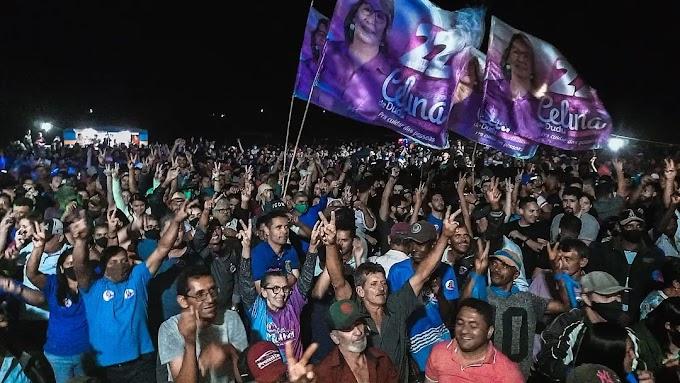 ELEIÇÕES SUPLEMENTARES - Em Capoeiras candidatos realizaram grandes atos