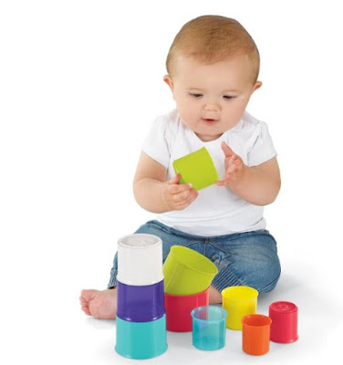 Stacking Cups-Stocking Stuffer Ideas for Toddlers