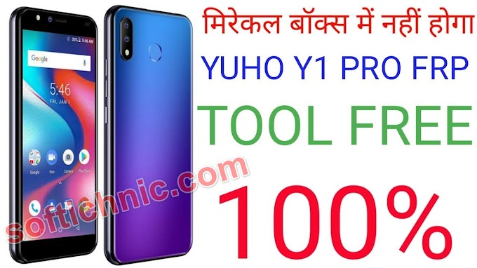 Yuho Y1 Pro frp Gmail Reset File