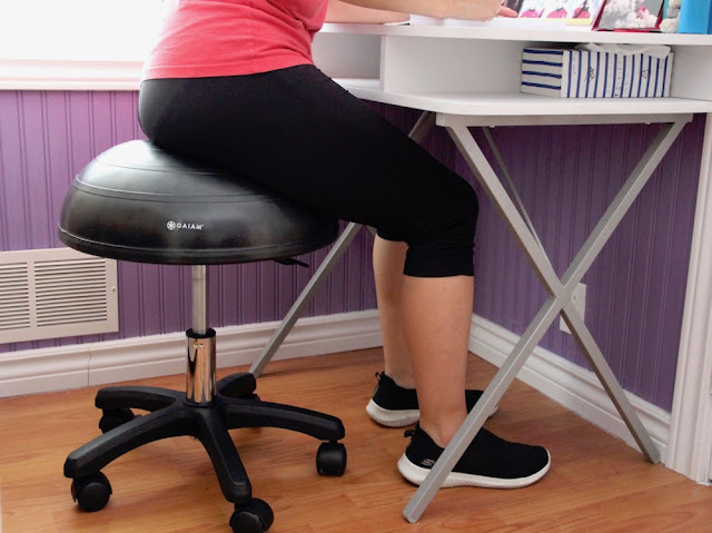 Gaiam Balance Ball Stool - Gaiam Canada Ambassador