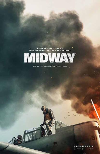 لمحبي أفلام الأكشن والحروب، يجب أن تشاهد فيلم Midway poster بوستر