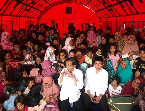 Tim Prabowo Tagih Janji Jokowi Soal Bantuan Gempa Lombok
