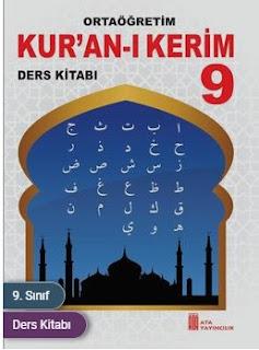 9. Sınıf Kuranı Kerim Ata Yayıncılık Ders Kitabı Cevapları